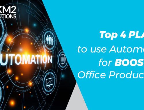 Top 4 Places to Use Automation for Boosting Office Productivity