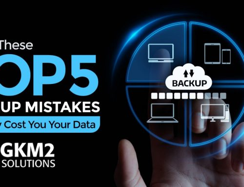 Avoid These Top 5 Backup Mistakes that May Cost You Your Data