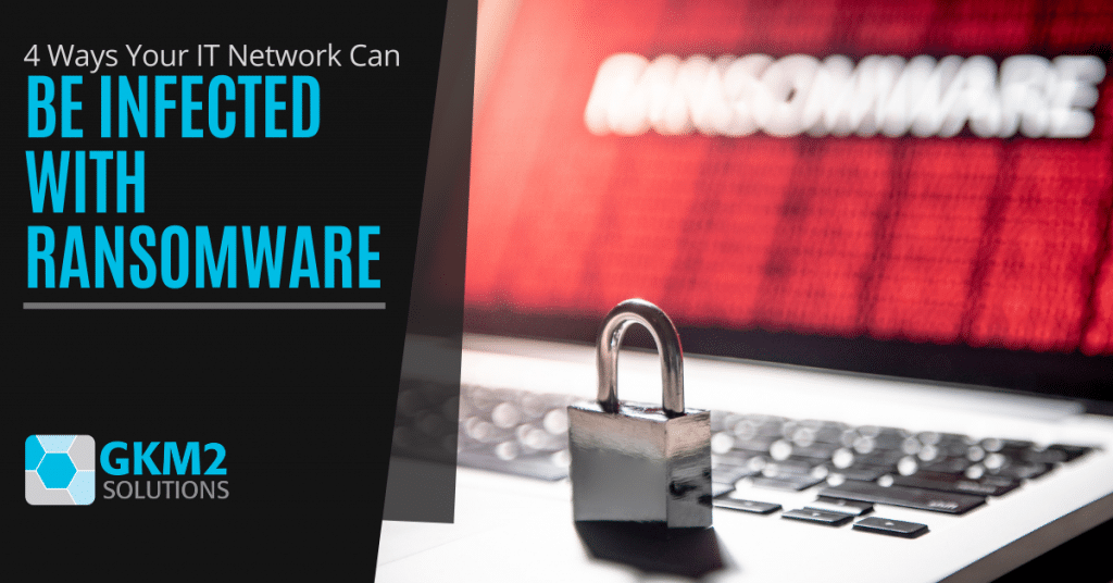 4 Ways Your IT Network Can Be Infected with Ransomware