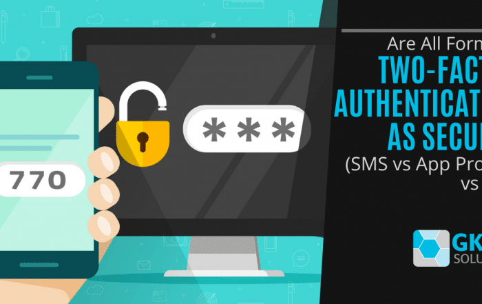 Are All Forms of Two-Factor Authentication as Secure? (SMS vs App Prompt vs Key)